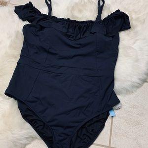 Bleu rod beattie one piece swimsuit size 20 womens